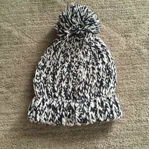 Baby Gap Toddler Marled Pom Beanie Knit Hat Winter